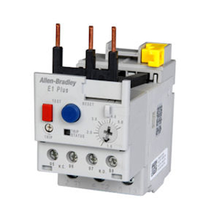 Picture of ALLEN BRADLEY OVERLOAD RELAY   MANUAL RESET   5.4-27 AMPS   193-ED1EB